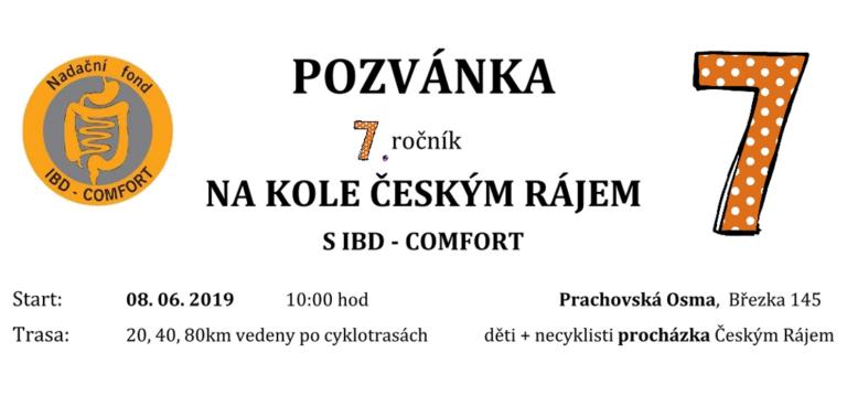 7.ročník NA KOLE ČESKÝM RÁJEM SIBD – COMFORT