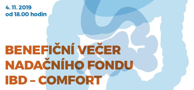 Benefiční večer Nadačního fondu IBD – COMFORT